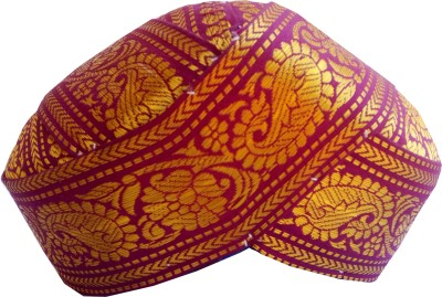 Mysore Peta Striped Head Wraps