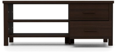 Urban Ladder Norland Compact Engineered Wood TV Stand(Finish Color - Dark Walnut)