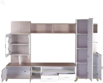 Royal Oak Royal Engineered Wood Entertainment Unit(Finish Color - White)