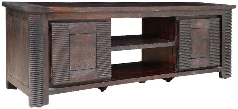 HomeTown Venus Solid Wood Media Cabinet