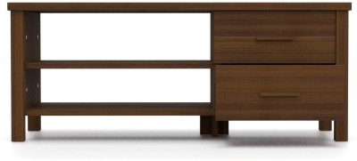 Urban Ladder Norland Compact Engineered Wood TV Stand(Finish Color - Walnut)