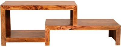 Ringabell Troika Solid Wood TV Stand(Finish Color - Teak)