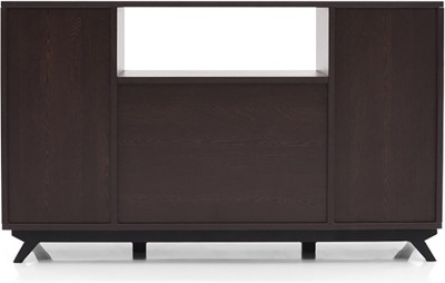 Urban Ladder Lincoln High Engineered Wood TV Console(Finish Color - Wenge)