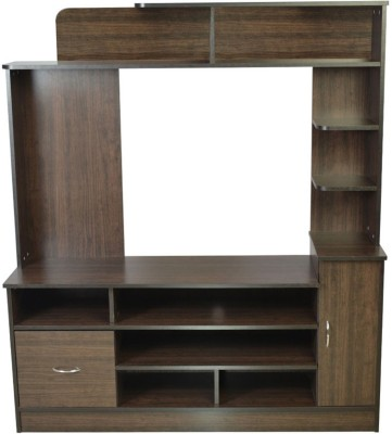 HomeTown Payton Engineered Wood Entertainment Unit(Finish Color - Wenge)