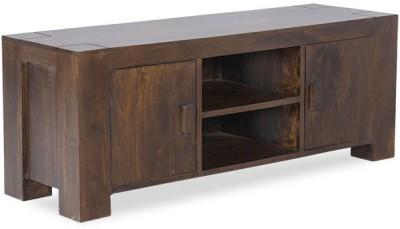 Smart Choice Furniture Rosewood (Sheesham)_JIEU05 - New_Matte finish Solid Wood Entertainment Unit