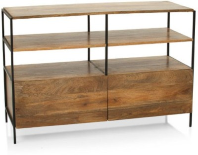 TheArmChair Solid Wood TV Stand(Finish Color - Natural)