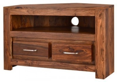 Indian Hub Solid Wood TV Stand