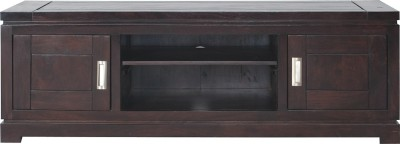 InLiving Solid Wood Entertainment Unit(Finish Color - Deep Walnut)