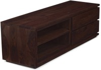 Urban Ladder Vector Solid Wood TV Entertainment Unit(Finish Color - Mahogany)
