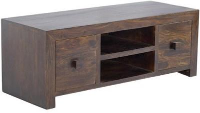 Smart Choice Furniture Rosewood (Sheesham)_JIEU08 - New_Matte finish Solid Wood Entertainment Unit