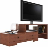 Housefull Engineered Wood TV Stand (Fini...