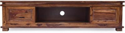 Jivan Solid Wood TV Stand(Finish Color - Walnut Brown)