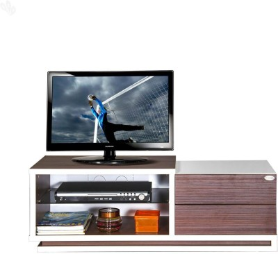 Style Spa Engineered Wood TV Stand(Finish Color - Honey Brown)