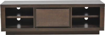 HomeTown Prestige Solid Wood TV Console(Finish Color - Brown)
