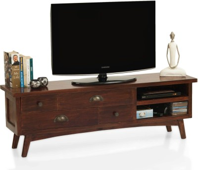 TheArmChair Solid Wood TV Stand(Finish Color - Mahogany)