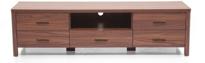 Urban Ladder Norland Engineered Wood TV Stand(Finish Color - Walnut)