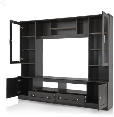 Royal Oak Berlin Engineered Wood Entertainment Unit(Finish Color - Dark)