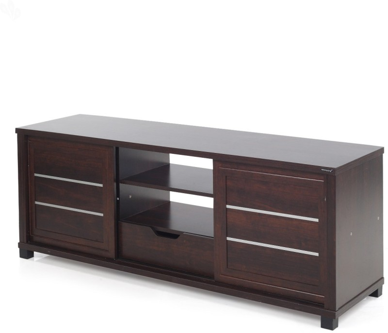Royal Oak Moscow Engineered Wood TV Stand(Finish Color - Honey...