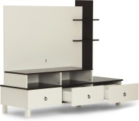 HomeTown Lauren Engineered Wood TV Entertainment Unit(Finish Color - White)