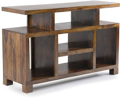 Smart Choice Furniture Rosewood (Sheesham)_JIEU07 - New_Matte finish Solid Wood Entertainment Unit