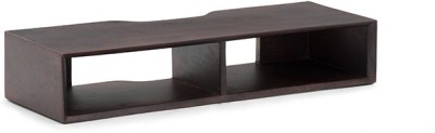 Urban Ladder Sawyer Wall Mounted Solid Wood TV Console(Finish Color - Mahogany)