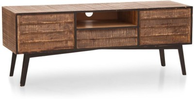 TheArmChair Solid Wood TV Stand(Finish Color - Dual Tone)