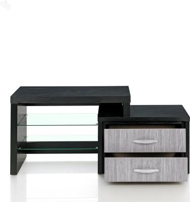 Royal Oak Berlin Engineered Wood TV Stand(Finish Color - Dark)