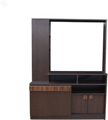 Crystal Furnitech Engineered Wood TV Stand(Finish Color - Honey Brown)