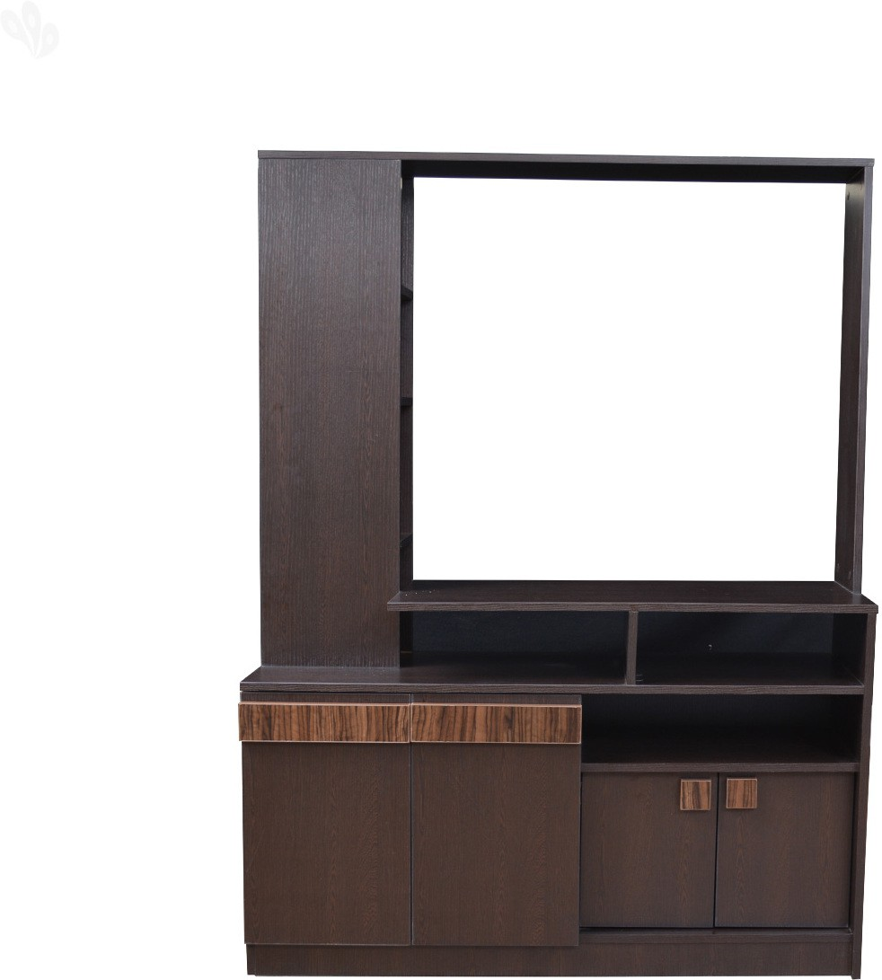View Crystal Furnitech Engineered Wood TV Entertainment Unit(Finish Color - Honey Brown) Price Online(Crystal Furnitech)