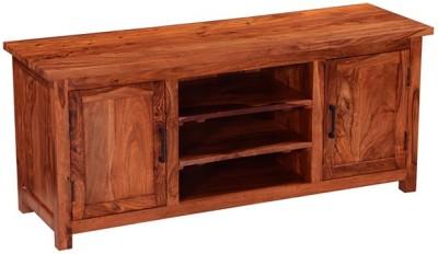 Smart Choice Furniture Rosewood (Sheesham)_JIEU13_Matte finish Solid Wood Entertainment Unit