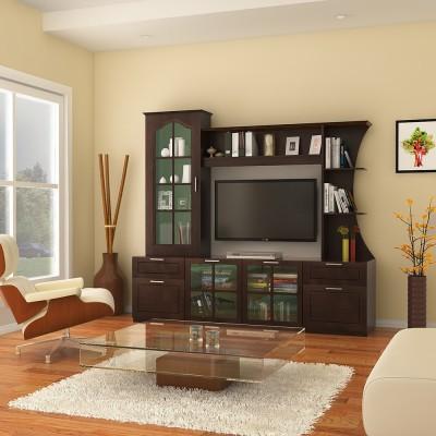 HomeTown Mandrin Wallunit Engineered Wood Entertainment Unit