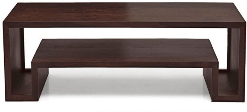 Urban Ladder Euler's Solid Wood TV Console(Finish Color - Mahogany)