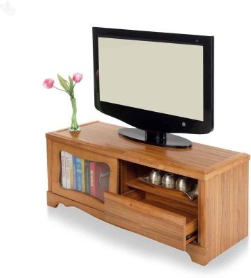 Royal Oak Ultra Solid Wood TV Stand(Finish Color - Natural)
