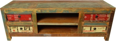 The Attic Solid Wood TV Stand