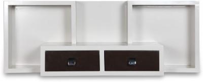 Megha Furnitures Engineered Wood TV Console