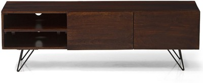 Urban Ladder Dyson Solid Wood TV Console(Finish Color - Walnut)