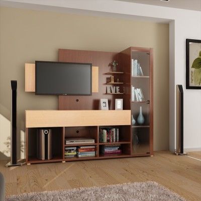HomeTown Greta Engineered Wood Entertainment Unit