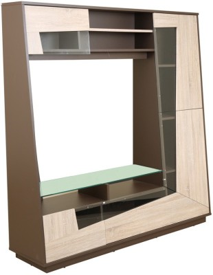 HomeTown Tulip Engineered Wood Entertainment Unit(Finish Color - Bark)