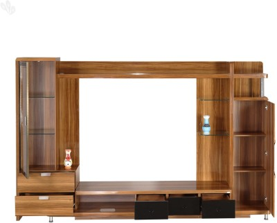 Royal Oak Daffodil Engineered Wood Entertainment Unit(Finish Color - Honey Brown)