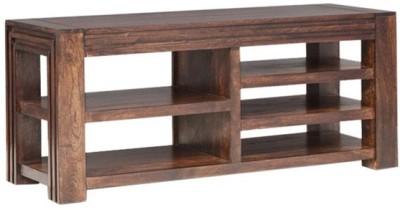 Smart Choice Furniture Rosewood (Sheesham)_JIEU10_Matte finish Solid Wood Entertainment Unit