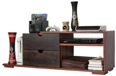 HomeEdge Solid Wood Entertainment Unit