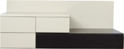 Godrej Interio Engineered Wood Media Cabinet(Finish Color - White)