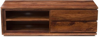 Urban Ladder Vector Solid Wood TV Console(Finish Color - Teak)