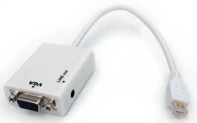 Aeoss A105ADWHT Mini HDMI to VGA With Audio