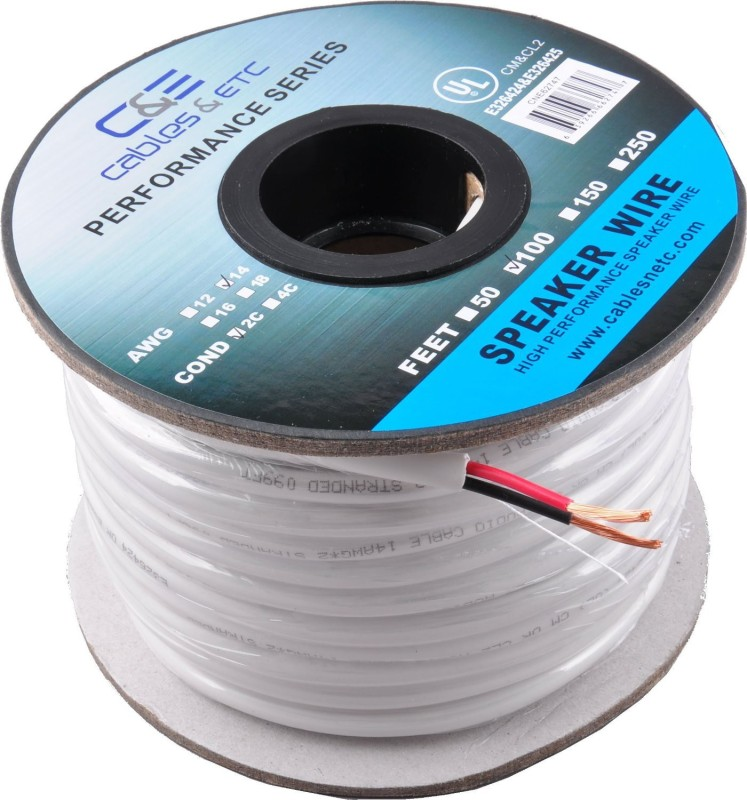 C&E 14 Gauge Copper Wire(30.48 m)