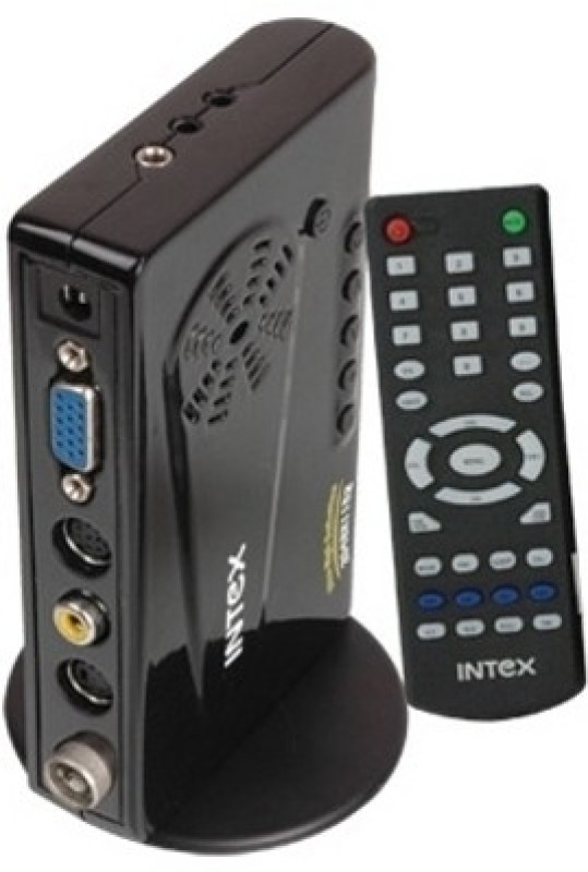 Intex LCD SKY-PRO IT-195 FM TV Tuner Card(Black)
