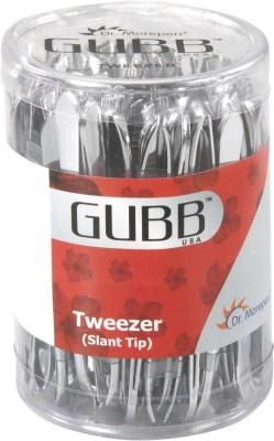 GUBB SLANT TIP TWEEZERS BOX