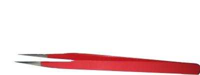 ARNAV Pointed Tweezers Red Glossy