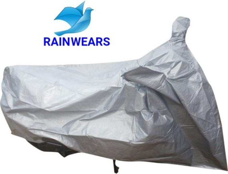 RAIN WEARS Two Wheeler Cover for Yamaha(Ray, Grey)