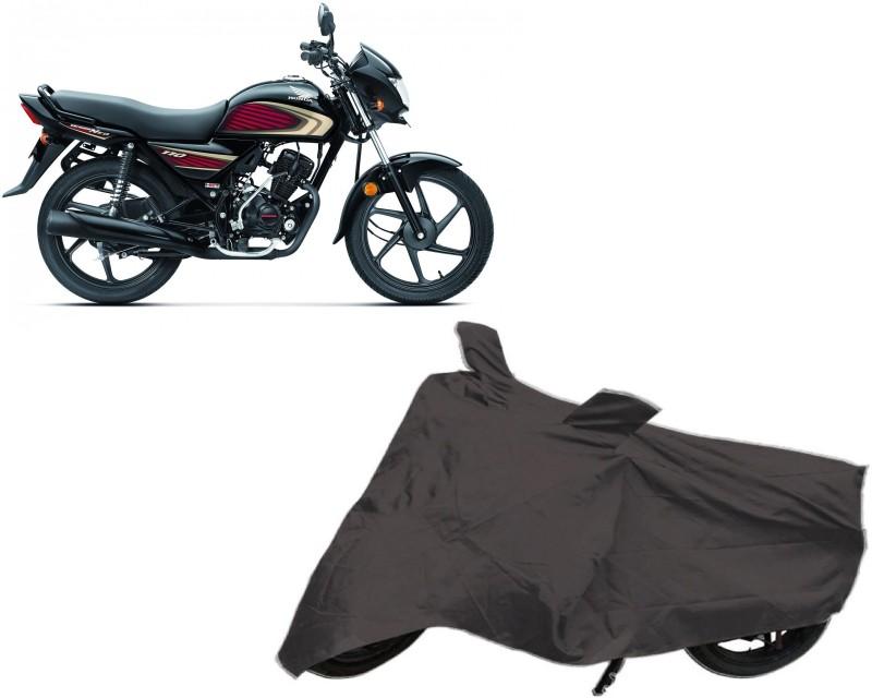 ACCESSOREEZ Two Wheeler Cover for Honda(Dream, Black)